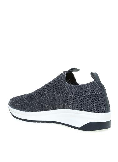 Limon Company Limon Kadın Siyah-Gümüş Günlük Ayakkabı Siyah